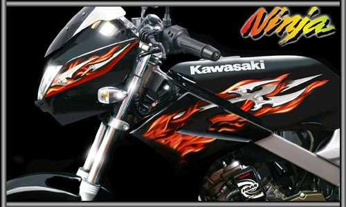 Kawasaki Ninja Rr 150. Praktis hanya Kawasaki Ninja