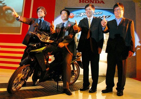 Honda SupraX125 dan Absolute Revo anyar diluncurkan!!!