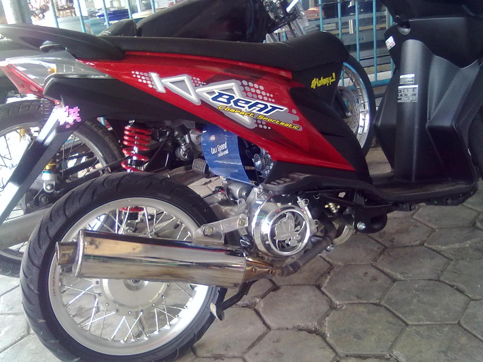Modif Minimalis Honda Beat Garang Iwanbanarannet Warung