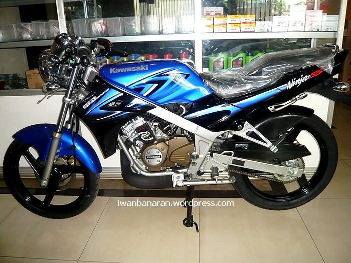 Kawasaki Ninja150-N blue colour!! Mantep juga… September 23, 2011