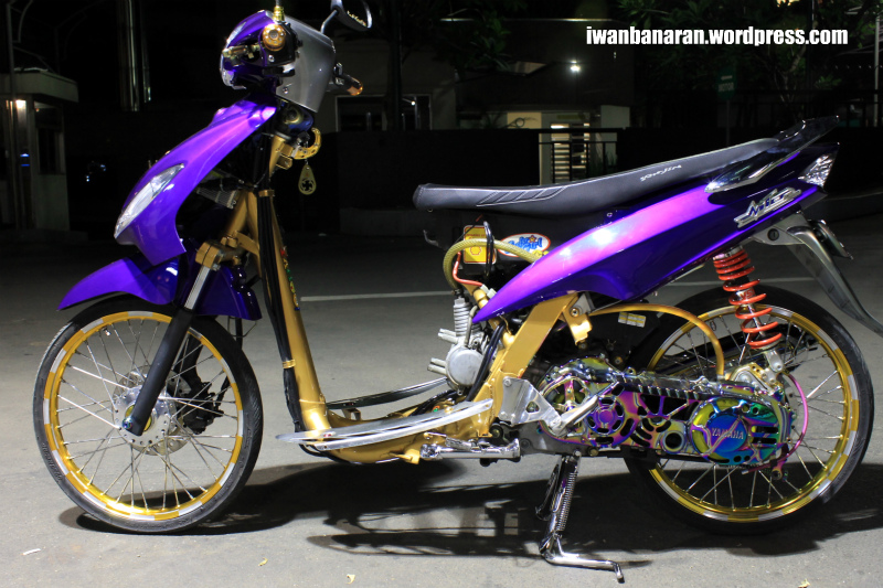 referensi modifikasi mio racing harian