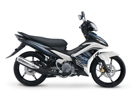 Modifikasi Jupiter Mx 2013 Warna Hitam