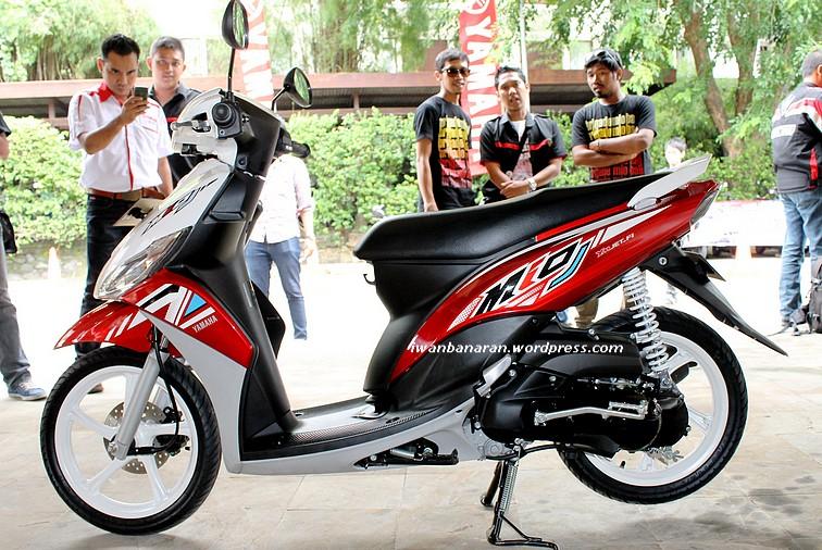 Mio-J Teen....banderol 12,930 juta OTR Jakarta