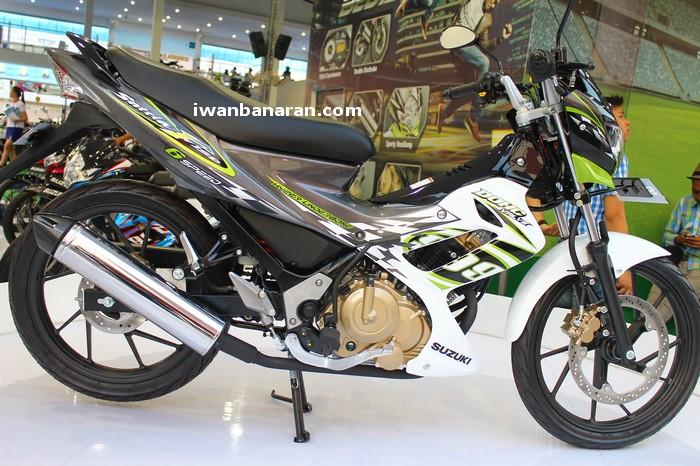 Koleksi komplit new color Suzuki Satria 150FU 2012…. Juli 5, 2012
