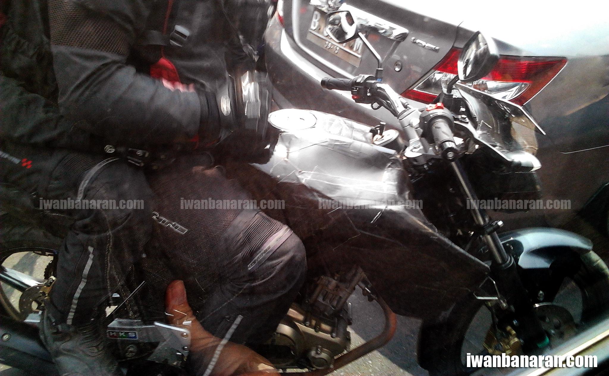 yamaha yang dibekali rear disk brake nampaknya diluluskan oleh yimm