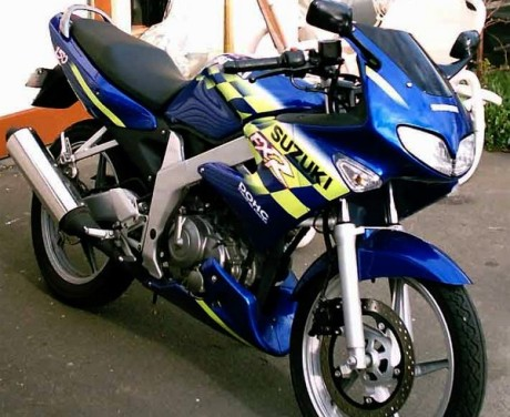 Spesifikasi Suzuki FXR150