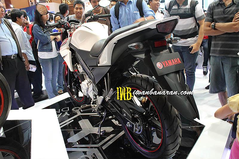 Yamaha New Vixion VS Honda CB15R Januari 8, 2013