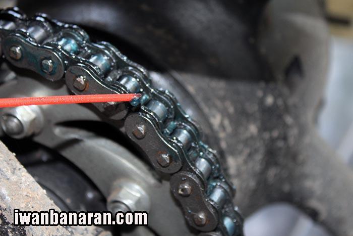Chain lube Yamalube