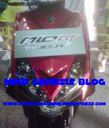 Moncong depan Mio GT...