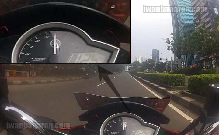 New Vixion top speed