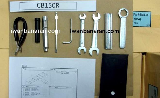 Tool KIT Honda CB150-IWB