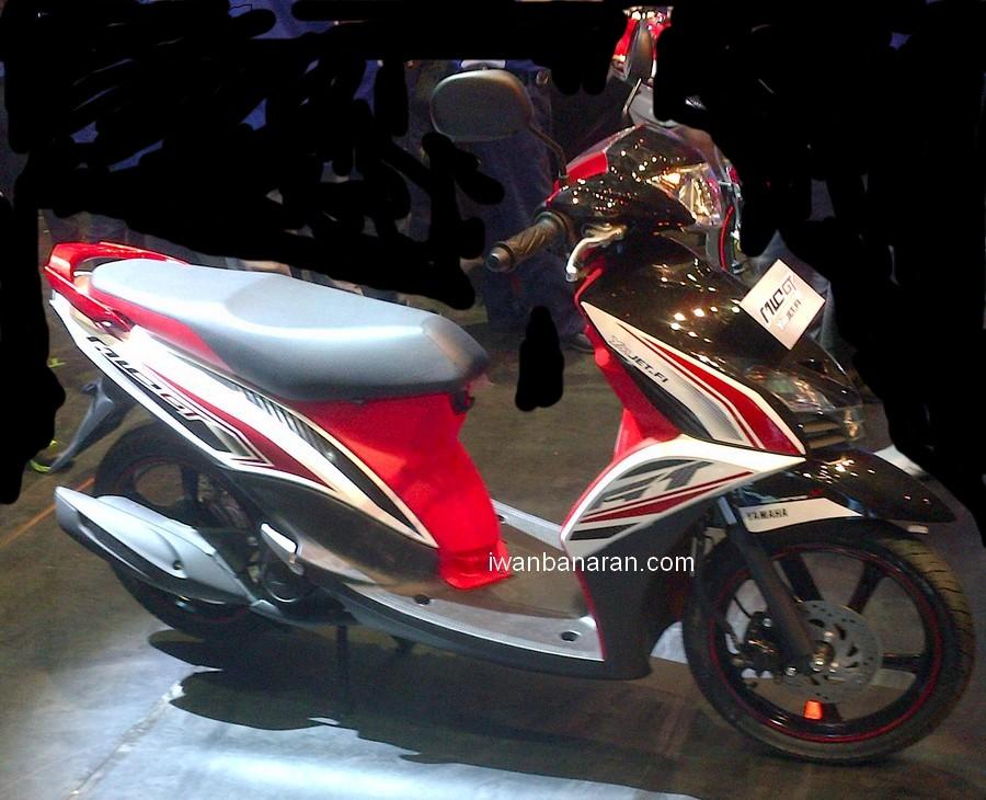 Foto detil Yamaha Mio GT…..memang jauh lebih ganteng dan advance ...