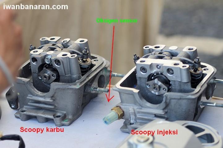 Scoopy FI vs karbu