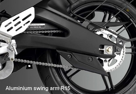 R15 swing arm