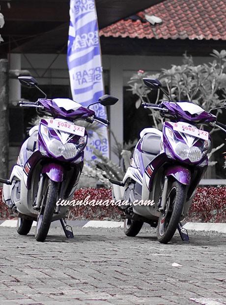 Barisan skutik Yamaha mulai merapat....sport kudu tetap hati-hati
