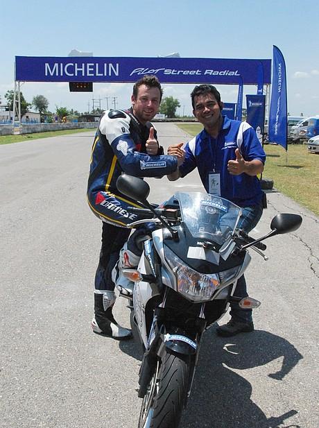 Michelin Pilot Street