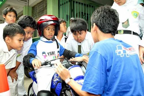 Safety riding kids SD Muhammadiyah 5 Tebet Jakarta