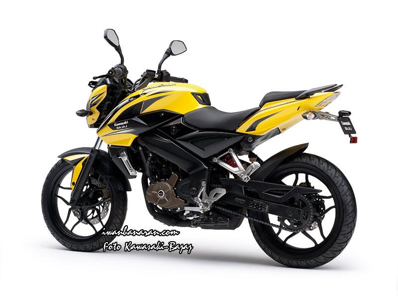 Kawasaki bajaj pulsar ns200 otr surabaya rp 24 100 000 setia1heri