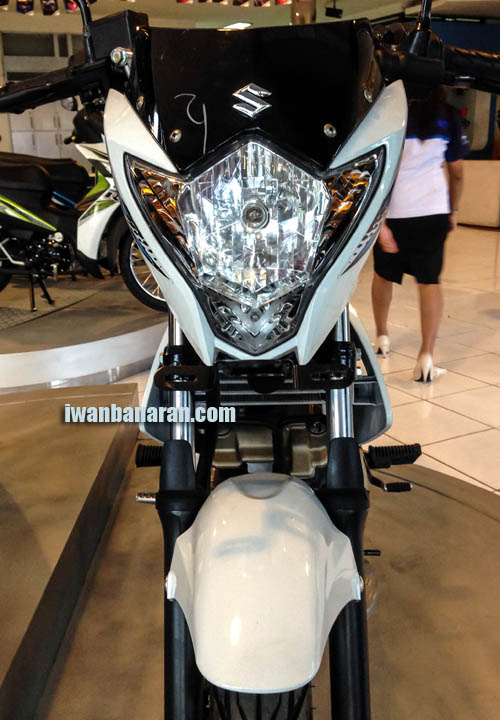 Komparasi fisik Suzuki Satria FU new vs Old… Juli 3, 2013