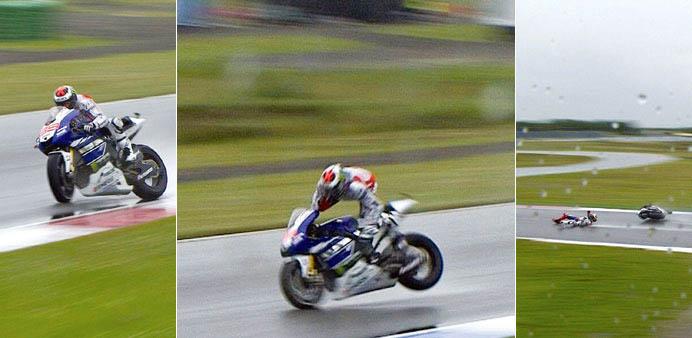 Lorenzo crash assen