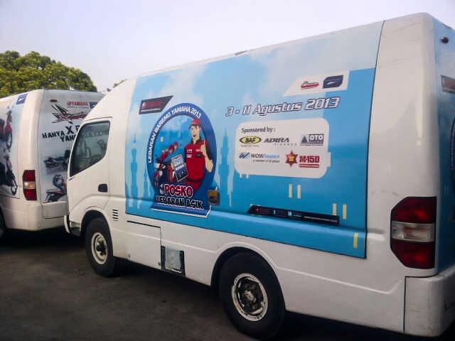 Branding Caravan Pos Nagrek Ready