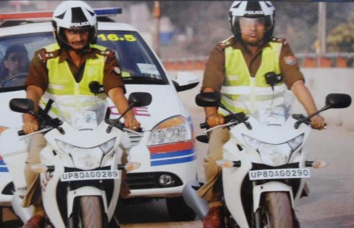Honda_CBR250R_Indian_Police