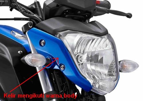 Gambar Tengkorak di Yamaha Byson terbaru | Gambar Modifikasi Motor