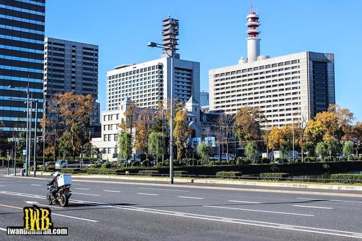 Motor bukan menjadi pilihan utama warga Jepang....