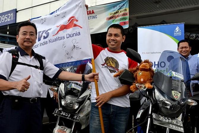 1.1_SOHO Global Health Dukung Round The Borneo_sebar virus edukasi kesehatan