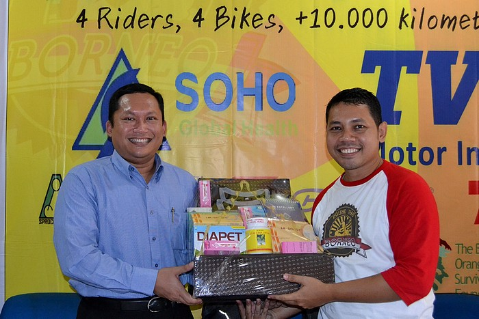1.1a_SOHO Global Health Dukung Round The Borneo_sebar virus edukasi kesehatan