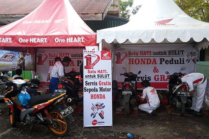 Honda Peduli Korban Banjir 01