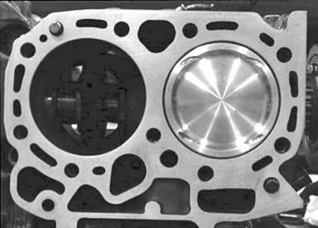 Yamaha R25 engine