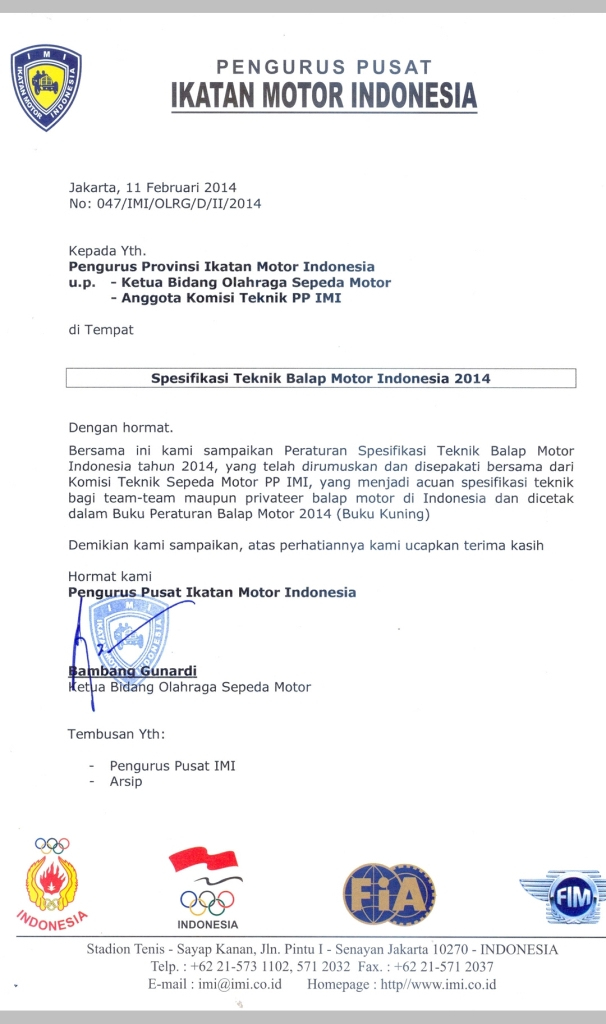 Surat-Regulasi-Balap-Sport-2014