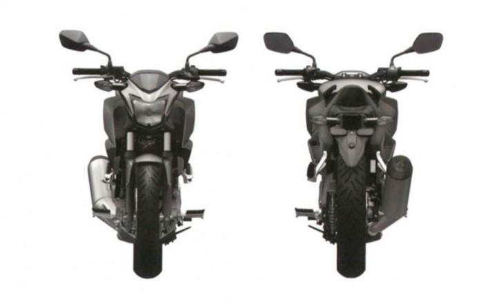 Honda-Naked-CBR300R-Patent-Design