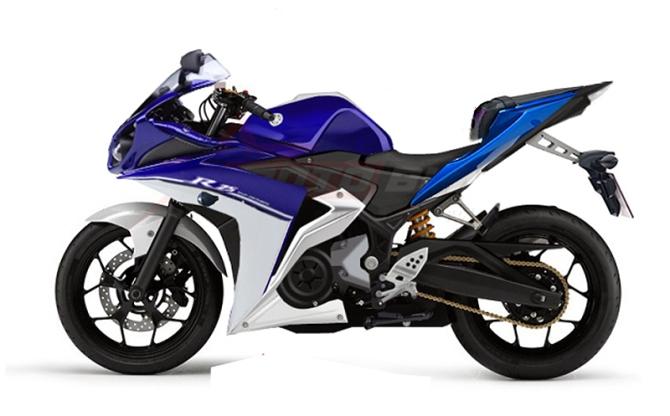 New Yamaha YZF R25