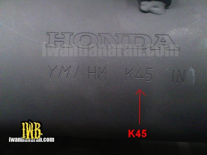 K45 muffler assy