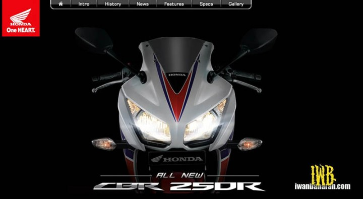 Honda new CBR250R dual keen eyes